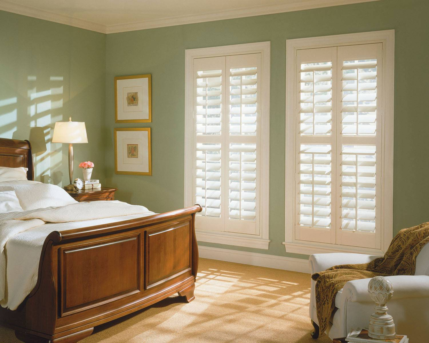 Norman Shutters Woodlore Composite Shutters Xpo Blinds
