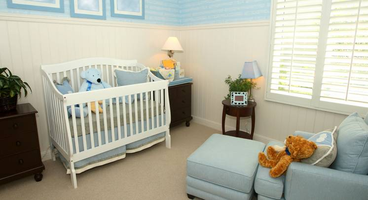 Baby's Room Cordless Blinds