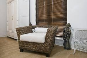 wood blinds decor